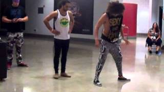 Shuffling tutorial by LMFAO!