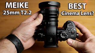 Best Cinema lens for the MFT? | GH5 - BMPCC 4K | MEIKE 25mm T2.2 | Test Footage