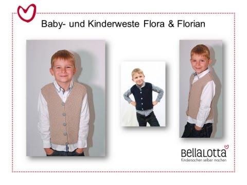 Kinderweste Flora & Florian in großem Perlmuster – Stricken für Anfänger