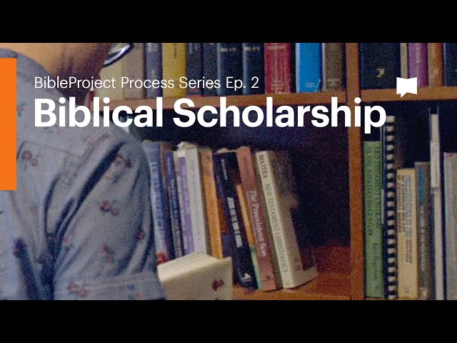 Biblical Scholarship: Process Series