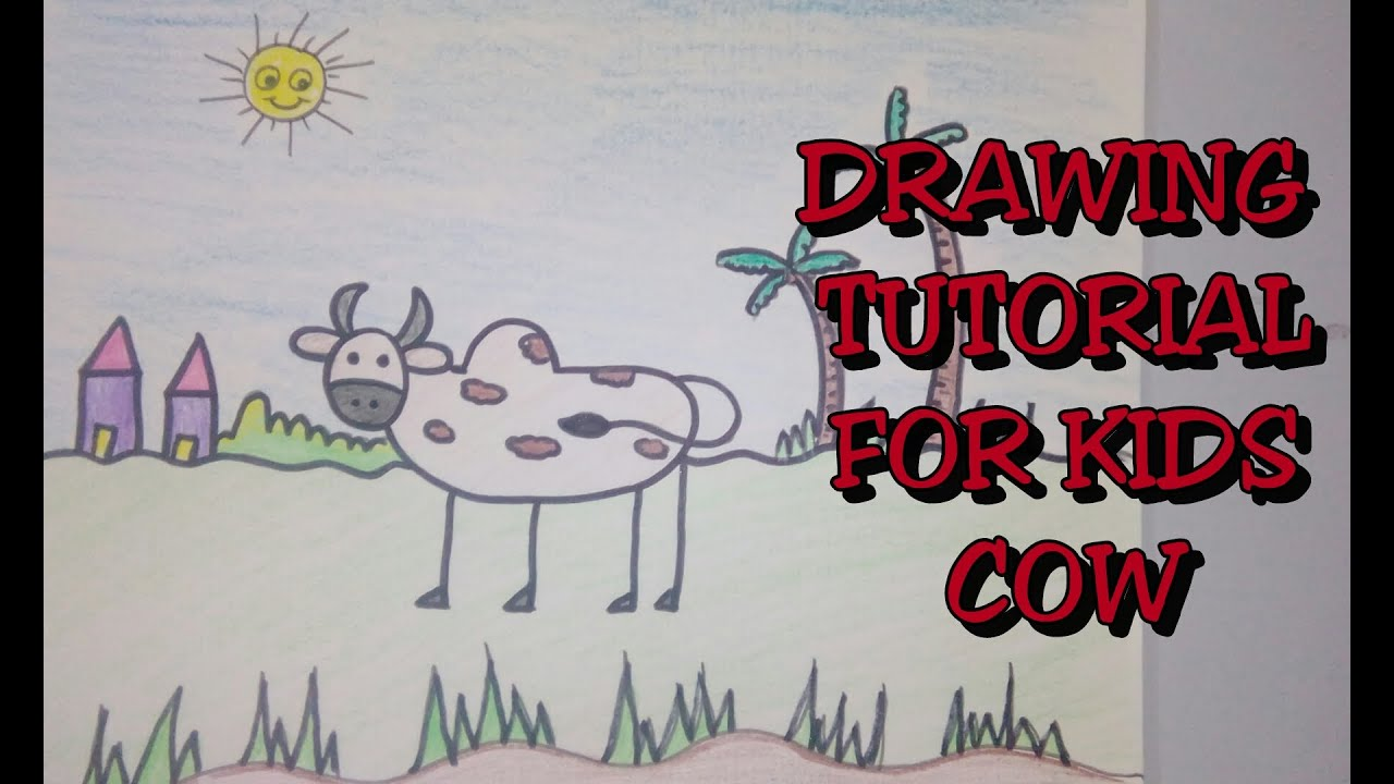 Drawing tutorial step by step drawing for kids how to for Creative ideas step by step