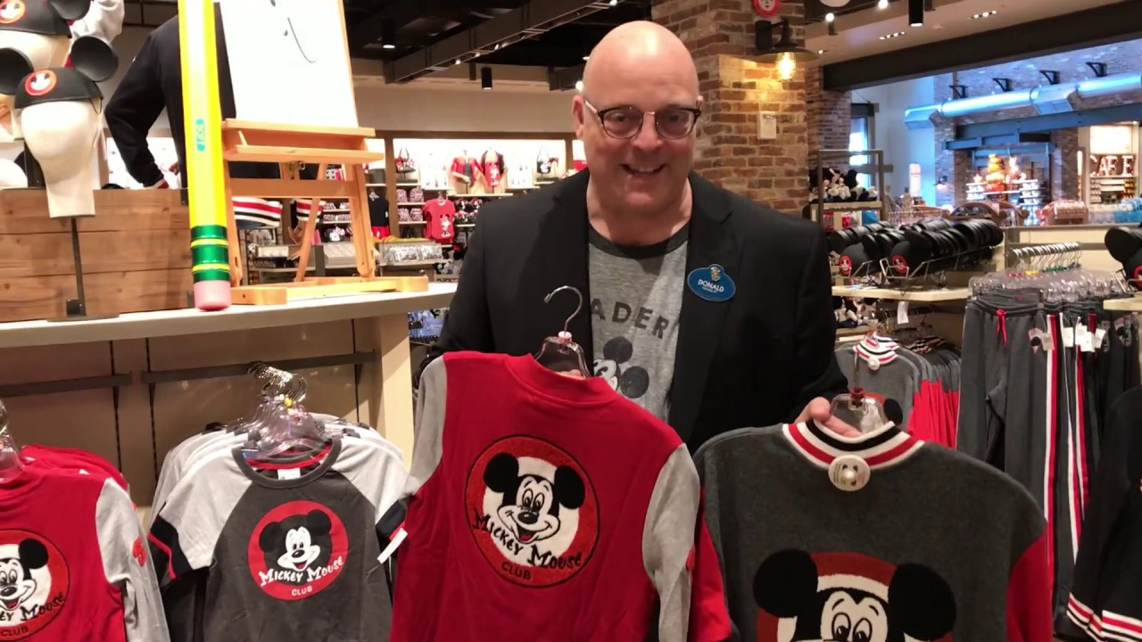 Mickey Mouse Club Merchandise Arrives At World Of Disney Disney
