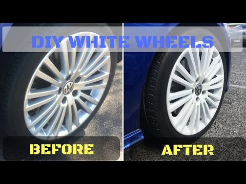 Paint your Rims White