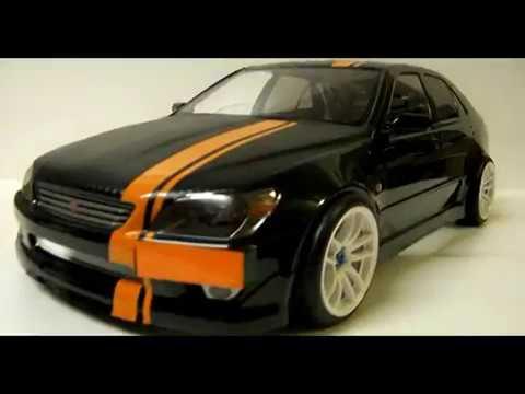 Build A Toyota >> EAC RC Body Build -- Tamiya Toyota Altezza / Lexus IS200 - YouTube