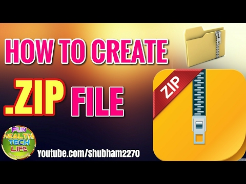 How To Create Zip File On Your Phone / Compress Any File With Or Without Password
