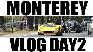 Monterey Vlog -Pebble Beach Tour D'Elegance