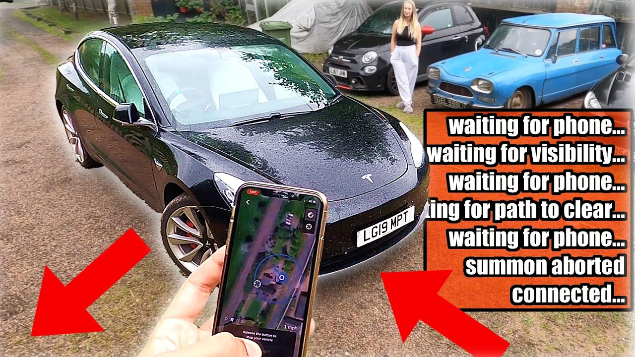 Tesla 'Smart Summon' is EVEN WORSE than before! 2 phone Hack banned / UN/ECE R79