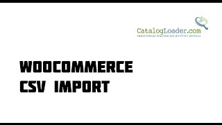 WooCommerce. Импорт товаров из прайса csv (excel)