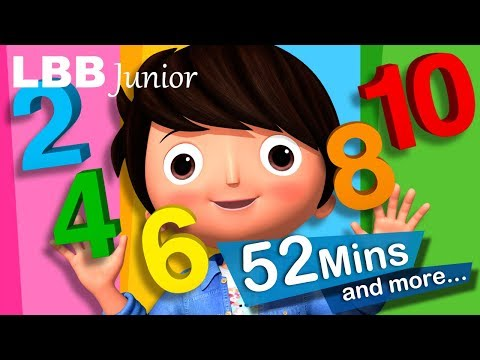 Counting By 2 Song | And Lots More Original Songs | From LBB Junior!