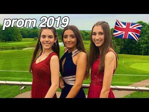 BRITISH YEAR 11 PROM + GRWM VLOG 2019 | HAIR, MAKE UP, TAN & MORE