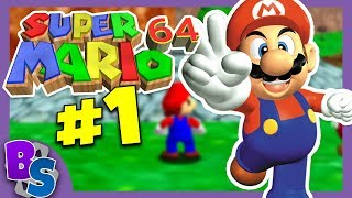 Super Mario 64: #1 -  Learning Curve - Button Smashers!