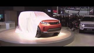 Jaguar Land Rover at the Beijing Auto Show