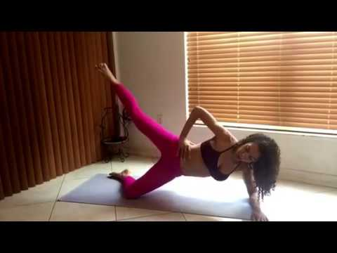 Rena: Yoga-Inspired Workout for Core and Glutes