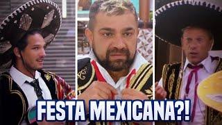 Festa Mexicana - PREPARAÇÃO DOS PEÕES (Roupa) | A Fazenda 10