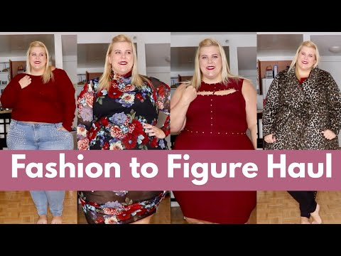 Fashion to Figure Plus Size Winter 2017 Haul