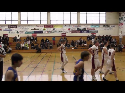 (JV Boys Basketball) Point Arena vs. Mendocino High School - First Half