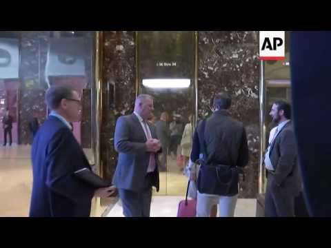 Jared Kushner Arrives At Trump Tower