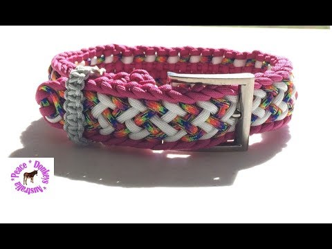Crown Trail paracord dog collar - fully adjustable