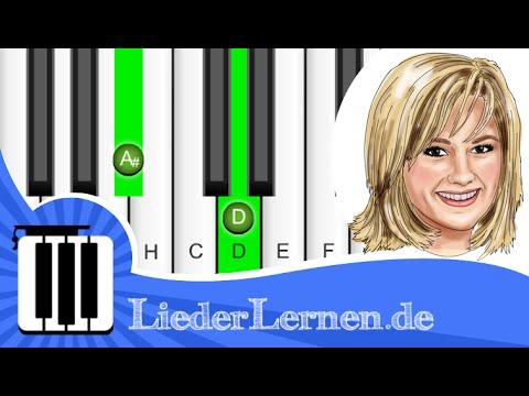Helene Fischer - Atemlos durch die Nacht - Klavier lernen - Musiknoten - Akkorde
