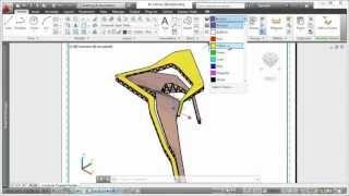 AutoCAD 2013 - Предварительный просмотр при смене видов