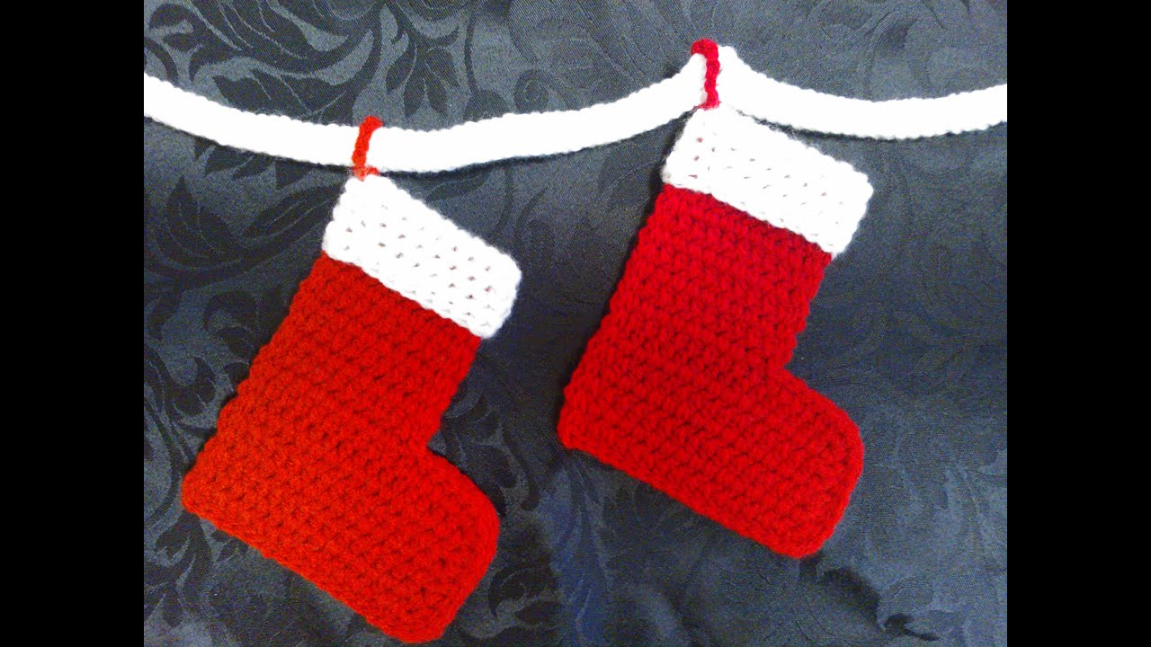 How To Crochet My Easy Magic Christmas Stocking And