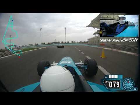Formula Yas 3000 DriveYas (опыт вождения формулы по трассе Яс Марина)