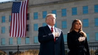 9/11 Memorials: Trump, Pence remember the fallen