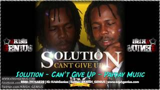 Solution - Can-t Give Up - August 2014