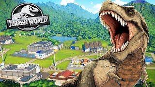 CREAMOS NUESTRO PROPIO PARQUE JURASICO   JURASSIC WORLD EVOLUTION #1