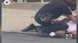 Video Of Allentown Police Officer Appearing To Put His Knee On Man's Neck During Arrest Garnering Na