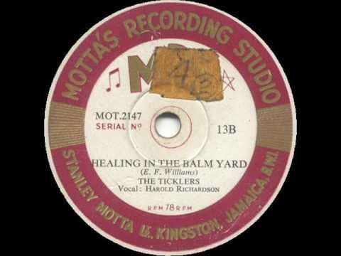 Healing In The Balm Yard - Everard Williams