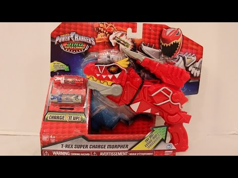 Deluxe T-Rex Super Charge Morpher Review [Power Rangers Dino Super Charge]