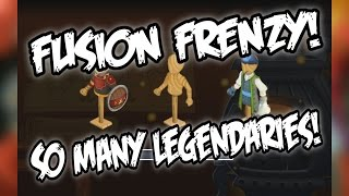 Knights and Dragons - FUSION FRENZY | SO MANY LEGENDARIES!!!