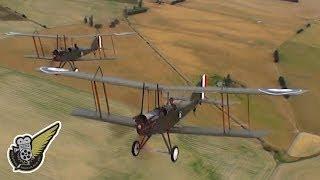 WW1: Two Royal Aircraft Factory B.E.2e's