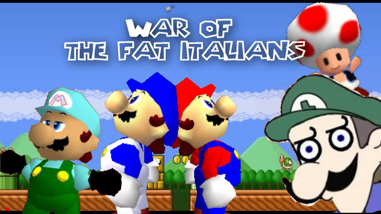 SM64: War of the fat italians 2014 (200k special!)