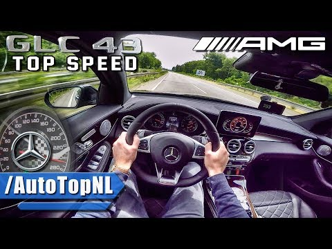 Mercedes GLC 43 AMG ACCELERATION & TOP SPEED AUTOBAHN POV By AutoTopNL