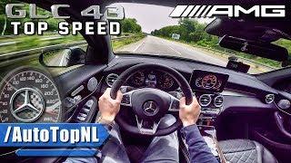 Mercedes GLC 43 AMG ACCELERATION & TOP SPEED AUTOBAHN POV by AutoTopNL