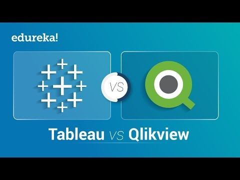 Tableau vs QlikView - Force Is Strong With Which One? | Business Intelligence (BI) Tools | Edureka thumbnail