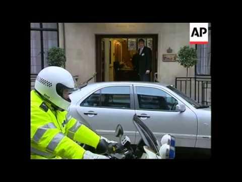 UK: PRINCESS MARGARET ILLNESS