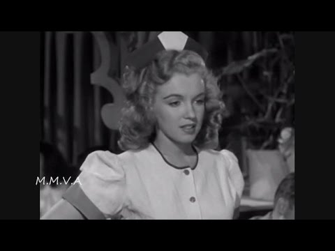 "Marilyn Monroe Scenes From The Movie ""Dangerous Years"" 1947 - The First Marilyn Movie released"