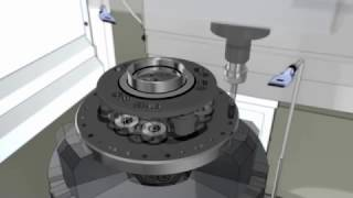 Токарно-фрезерный станок #EMAG VMC 450 MT с роботизированной загрузкой деталей