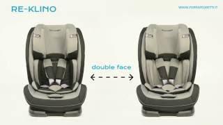Foppapedretti: caratteristiche seggiolino auto Reklino