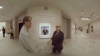 360: Donald Trump Portrait at National Portrait Gallery (C-SPAN)