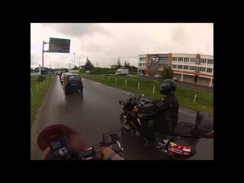 KEMBARA TRANS BORNEO : DAY 5 Brunei - Bintulu Sarawak