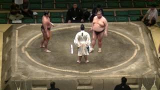 大相撲.2016.5.20.Sumo Natsu Basho/day 13/寺尾翔(teraosho)-朝山端(asayamabana)