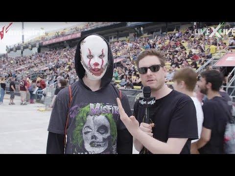 Killer Clowns, Power Rangers: Meet Rock on the Range's Fans