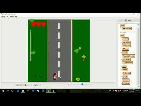 Greenfoot Driving Game