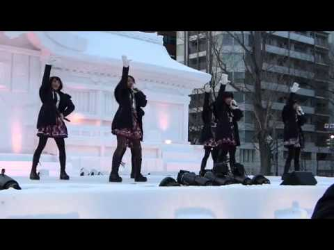 JKT48 Live Performance @ Japan Sapporo Snow Festival (09-02-2015)