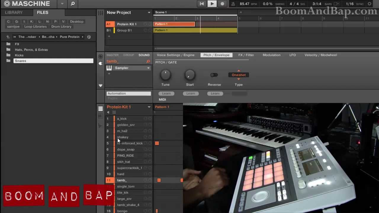 Boom and Bap: Beat Butcha Protein drum kit review