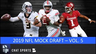 NFL Mock Draft With Trades: Kyler Murray & Dwayne Haskins Jump Into Top 5 & Full First Round